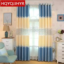 Where To Buy Kitchen Curtains Online by Alluring Blue And Yellow Kitchen Curtains And Curtain Blue And