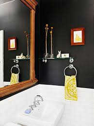 Black Painted Bathroom Cabinets 10 Bathroom Paint Color Ideas Home Decor Trends