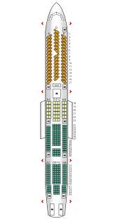 a340 seat map a340 600 atlantic seat maps reviews seatplans com