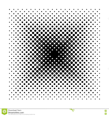 vector square halftone geometric shapes dot minimal design
