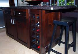 kitchen islands with wine racks kitchen island wine rack kitchen ideas