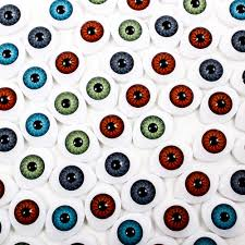 wholesale plastic 14x19mm oval doll eyes choose color reborn eye