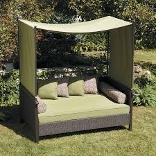Swing Bed With Canopy Better Homes And Gardens Providence Outdoor Day Bed Walmart Com