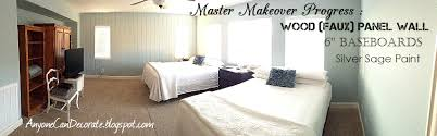 anyone can decorate diy d wood panel wall master makeover