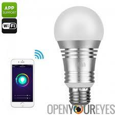 light bulbs that work with amazon echo smart wifi led bulb 600 lumens 16 million colors amazon echo