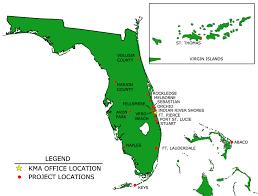 Florida On Map by Contact