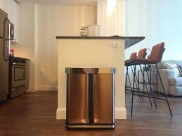 In Cabinet Trash Cans For The Kitchen Simplehuman Trash Can Is Worth More Than 50 Review Business