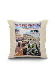 cuisine du monde reims xlvie grand prix de l acf reims vintage poster c 1960