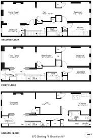 brownstone house plans in floor plans ts design visualization