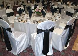black chair covers chair cover for wedding covers and more new satin sashes in black