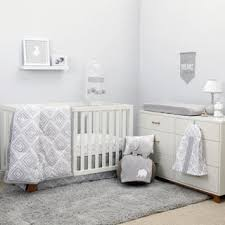 Gray And White Crib Bedding Grey Baby Bedding For Less Overstock