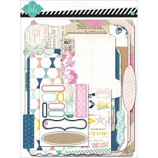 scrapbook album kits heidi swapp hello today memory planner memory files kit