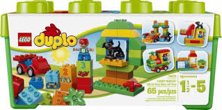 lego duplo all in one box of 10572 by lego systems inc