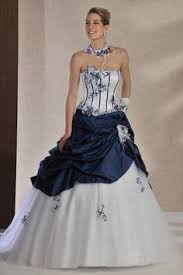 robe de mariã e bleu turquoise bustier robe mariée et blanche princesse acherie fr http