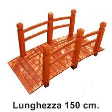 ringhiera in legno per giardino ponte da giardino in legno per laghetto e arredo esterno
