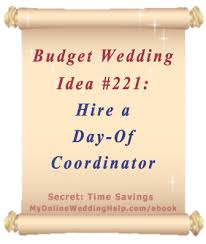 day of wedding coordinator budget wedding idea 221 hire a day of coordinator my online