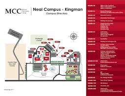 Kingman Arizona Map by Neal Campus U2013 Kingman U2013 Mohave Community College