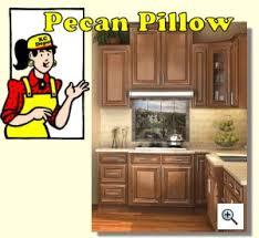 Kitchen Cabinet Depot Pecan Pillow Kitchen Cabinet Depot