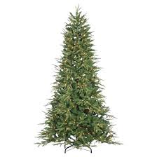 7 5ft pre lit artificial tree frasier fir clear
