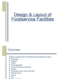 restaurant space analysis foodservice warehouse