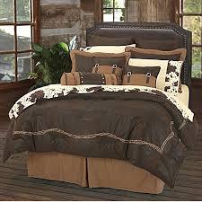 Vintage Comforter Sets Ranch Barbwire Western Bedding Comforter Set Chocoate