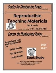 gracias the thanksgiving turkey guided reading lesson plan unit