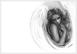 pencil drawings fallen angels drawing art u0026 skethes