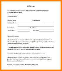 coaching contract templates 7 dj contract template coaching