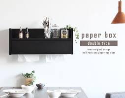 tissue paper box arne interior rakuten global market tissue wall rack wood