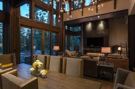 contemporary interior designs for homes lake tahoe getaway features contemporary barn aesthetic