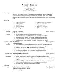 traditional resume exles resume templates traffic manager exle advertising sle