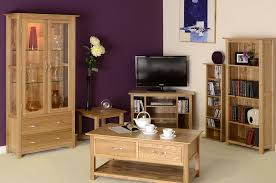 Oxford Contemporary Oak X Flip Top Extending Dining Table - Oak living room sets