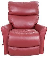 Rowan Reclina Rocker Recliner by La Z Boy Rowan Red Leather Rocker Recliner Homemakers Furniture