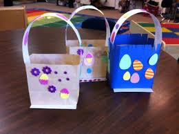 easter bags paper bag easter baskets fairy dust teaching