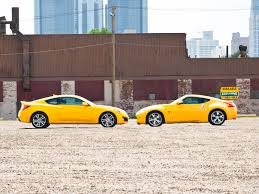 nissan 370z yellow edition 2009 nissan 370z sport nissan sport coupe review automobile