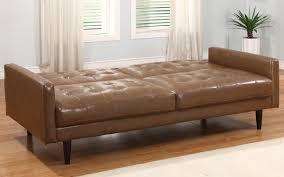 Modern Leather Sleeper Sofa by Leather Sleeper Sofa 59 With Leather Sleeper Sofa Jinanhongyu Com