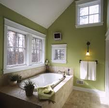 interesting and relaxing green bathrooms design ideas for family