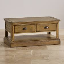 oak coffee tables living room furniture land round french