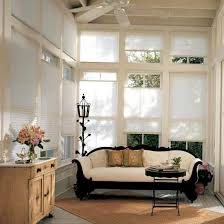 Modern Blinds For Living Room Silhouette Blinds Vs Honeycomb Shades Modern Window Coverings