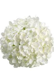 white hydrangeas white silk hydrangea balls hanging decorations wedding flowers
