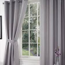 Plum Faux Silk Curtains Bedroom Silk Curtains In Beautiful Set Thecritui