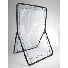 double sided lacrosse training rebounder