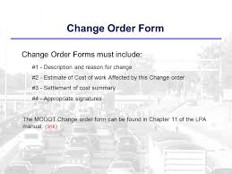 change order missouri local programs how to complete a