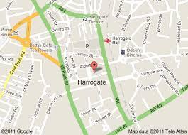 map uk harrogate windows
