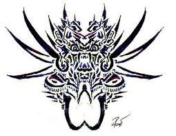 tribal demon 6 by roycorleone on deviantart