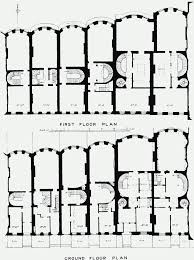 Ground And First Floor Plans by Plate 79 Nos 14 To 22a Even Queen Anne U0027s Gate Ground And