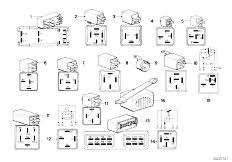 original parts for e30 318i m10 4 doors vehicle electrical