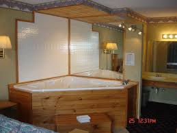 designs outstanding jetted bathtub shower combo 5 after replace