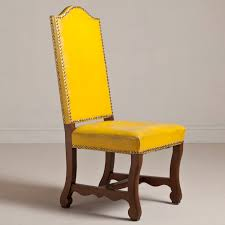 Yellow Chairs Upholstered Design Ideas Stunning Yellow Chairs Upholstered Yellow Upholstered Dining Room