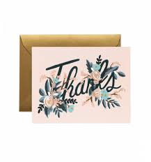 woodland greeting card by rifle paper co made in usa